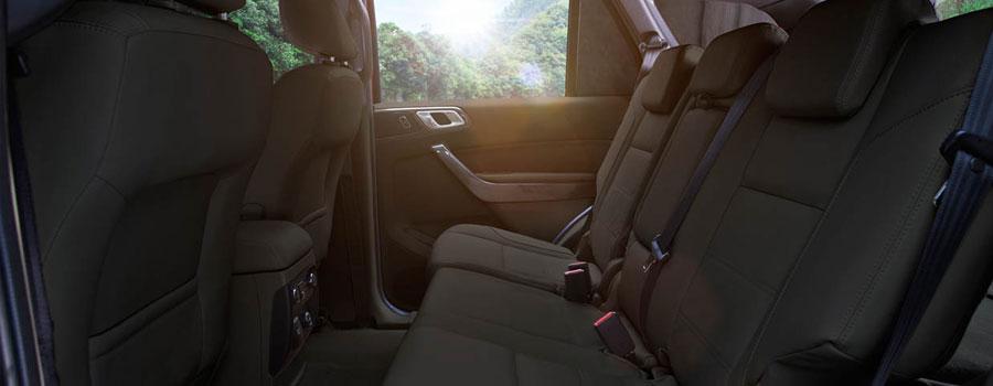 Seats seven in total comfort