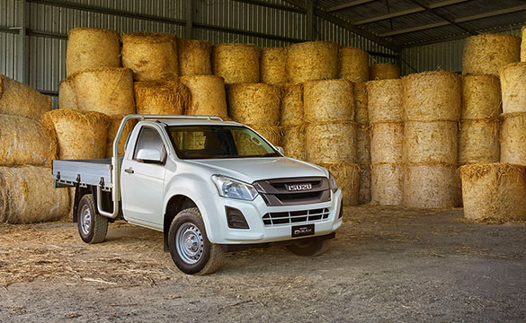 Isuzu D-MAX 4x2 SX Single Cab Chassis Image 1
