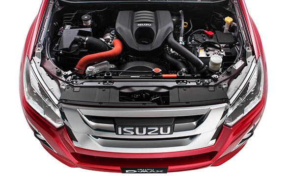 Isuzu D-MAX 4x4 SX Single Cab Chassis Image 7