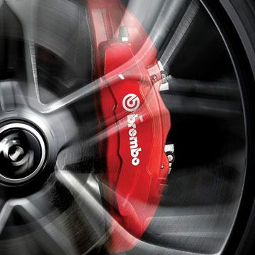 World-Class Brembo Brakes