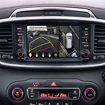 Built-in satellite navigation system