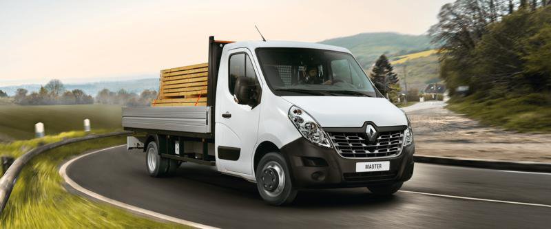 Renault Master Cab Chassis Image 1