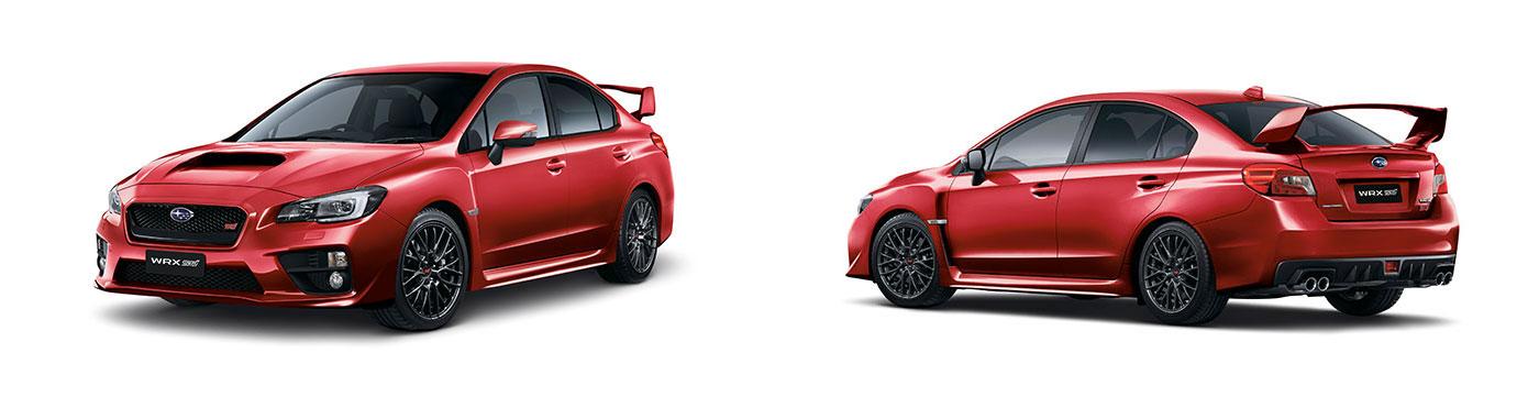 Subaru WRX STI Colour Variant 1