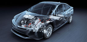 Hybrid synergy drive technology